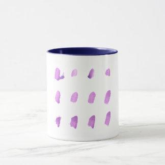 Designers mug with abstract art