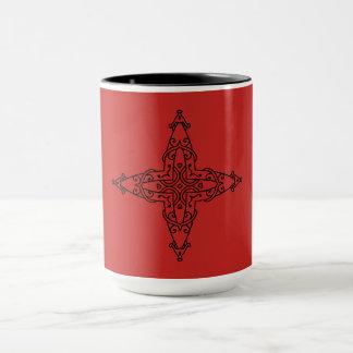 Designers mug with Mandala