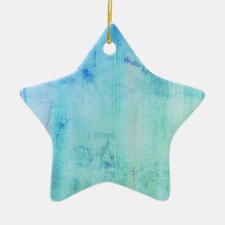 Designers star for Forever dreamer / Original gift Ceramic Star Decoration