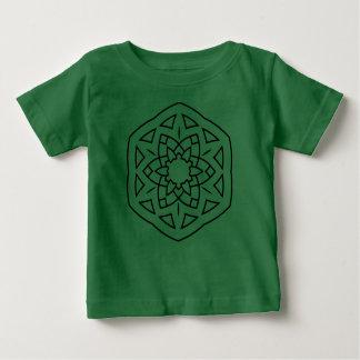 Designers t-shirt Green with mandala