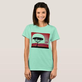 Designers t-shirt MINT, Safari theme