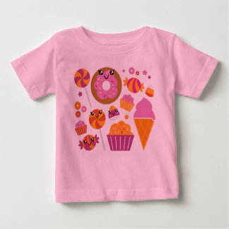 Designers t-shirt pink with Love characters