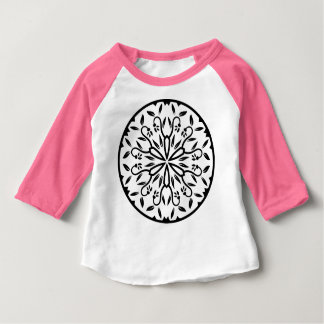 Designers t-shirt pink with mandala