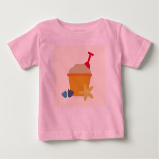 Designers t-shirt pink with Sand items