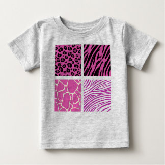 Designers t-shirt tiger pink
