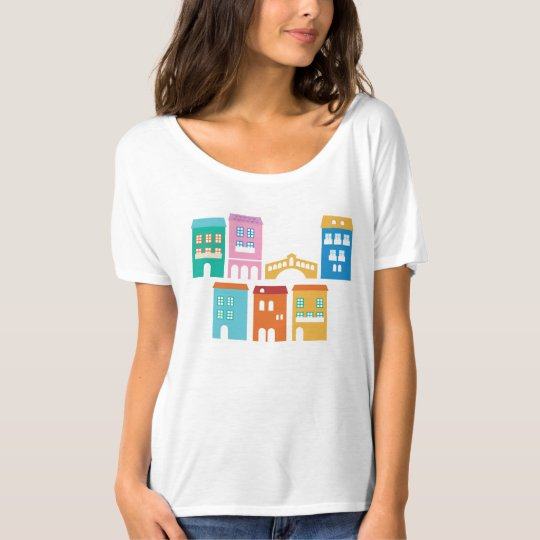 Designers t-shirt white with Italia home