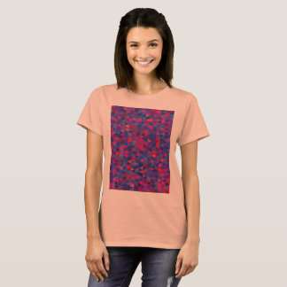Designers t-shirt with triangles