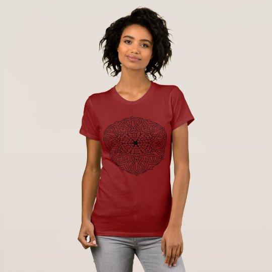 Designers t-shirt with Vintage mandala