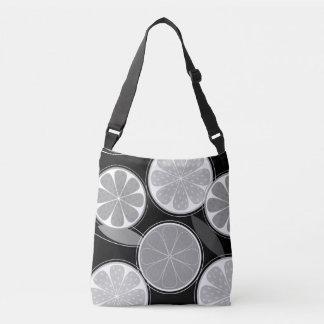 Designers tote bag / Black citruses