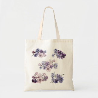 Designers tote bag with Flowers