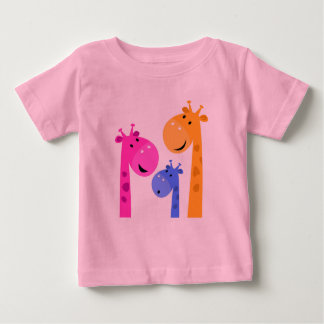Designers tshirt with Giraffes