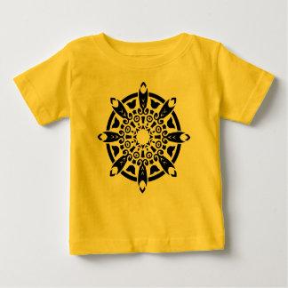 Designers TSHIRT yellow with mandala