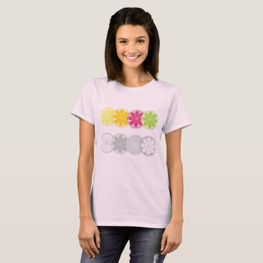 Designers vintage tshirt with Citruses