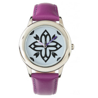 Designers watches with Mandala art