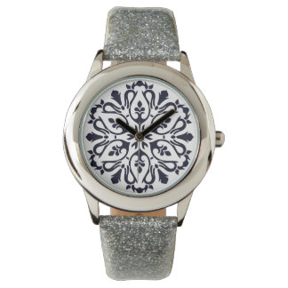 Designers watches with Mandala art