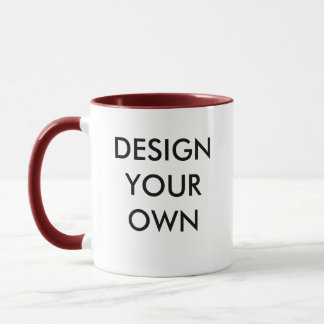 Desing Your Own Custom Personalized Combo Mug