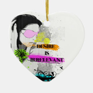 Desire Ceramic Heart Decoration