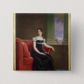 Desiree Clary  Queen of Sweden 15 Cm Square Badge