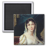 Desiree Clary  Queen of Sweden, 1807 Square Magnet