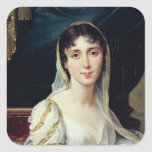 Desiree Clary  Queen of Sweden, 1807 Square Sticker