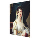 Desiree Clary  Queen of Sweden, 1807 Stretched Canvas Prints