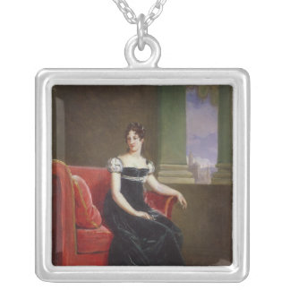 Desiree Clary  Queen of Sweden Silver Plated Necklace