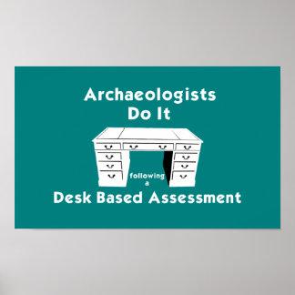 Desk Based Assessment Poster