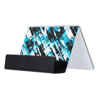 Desk Business Card Hot Blue Black digitalart G253 Desk Business Card Holder