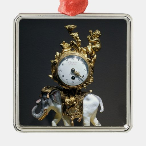Desk clock ornaments