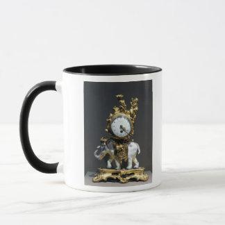 Desk clock mug