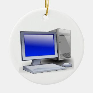 Desktop Computer Christmas Ornament