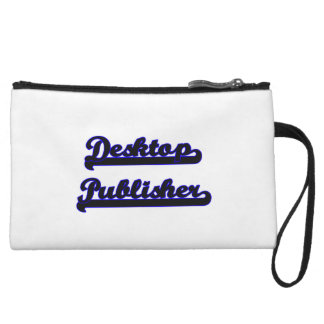 Desktop Publisher Classic Job Design Wristlet