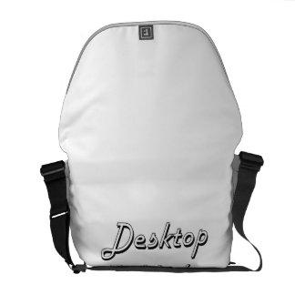 Desktop Publisher Classic Job Design Messenger Bag