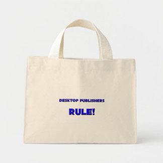 Desktop Publishers Rule Tote Bag
