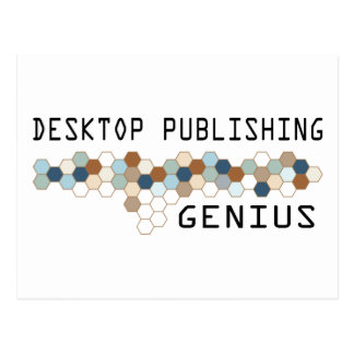 Desktop Publishing Genius Postcard