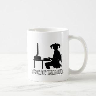 Desktop Warrior Basic White Mug