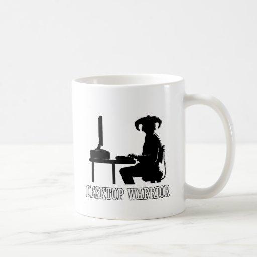 Desktop Warrior Mugs