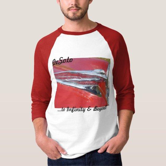 DeSoto 1946 1947 1948 Flying Goddess Vintage T-Shirt