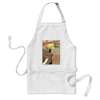 Desperado's Terrible Leap For Life Vintage Theater Adult Apron