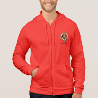 Despite Them Gregor Red Clan Badge Mens Hoodie
