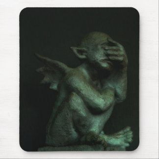 Despondent Gargoyle Mouse Pad