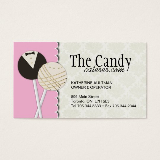 Dessert Caterers Business Cards