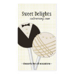 Dessert Catering Business Cards