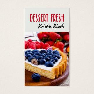 Dessert Fresh, Cheesecake, Pastry Chef, Baker Business Card