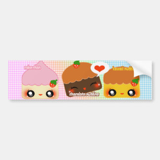 Dessert Luv Bumper Sticker
