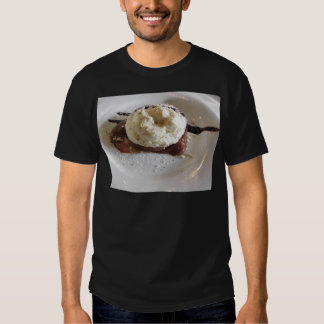 Dessert made with whipped cream and hazelnuts t-shirts