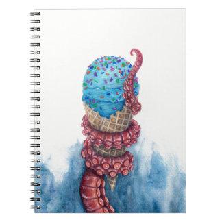 """Dessert"" spiral notebook"