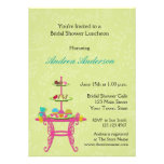 Dessert Table, Bridal Luncheon, Shower Invitation