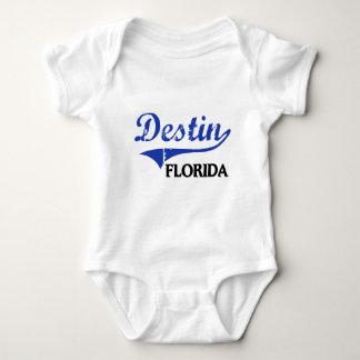 Destin Florida City Classic Baby Bodysuit