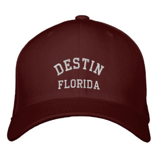DESTIN, FLORIDA EMBROIDERED HAT